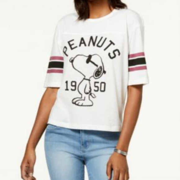 INC Celebrity Women Rhinestone stud Flutter Sleeve Blouse Graphic Tee Shirt Top